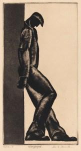 Unemployed (1930) by Alexander Stavenitz. (Alvia Urdaneta/ Mary and Leigh Block Museum of Art, Northwestern University, 1993)