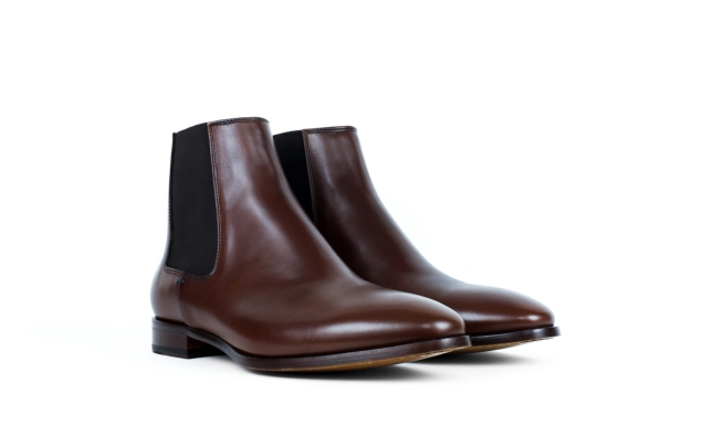 The Chase boot in walnut (Photo: Jack Erwin).