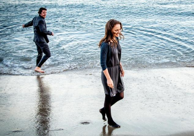 Christian Bale and Natalie Portman in Knight of Cups.