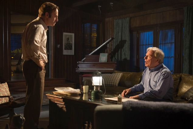 Jimmy (Bob Odenkirk) and Chuck McGill in Better Call Saul. (AMC)