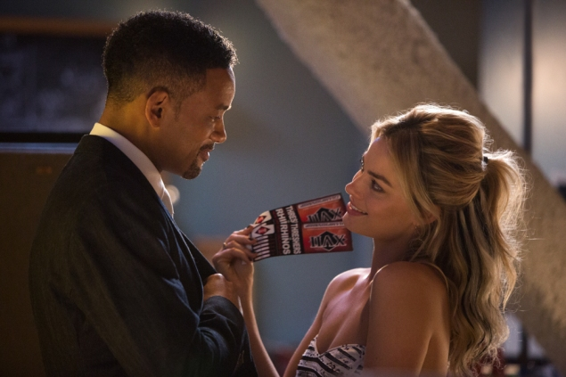 Will Smith and Margot Robbie.