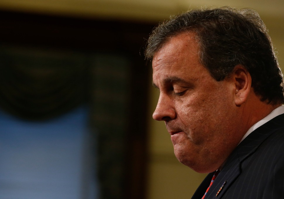 New Jersey Governor Chris Christie Holds News Conference To Address Traffic Scandal