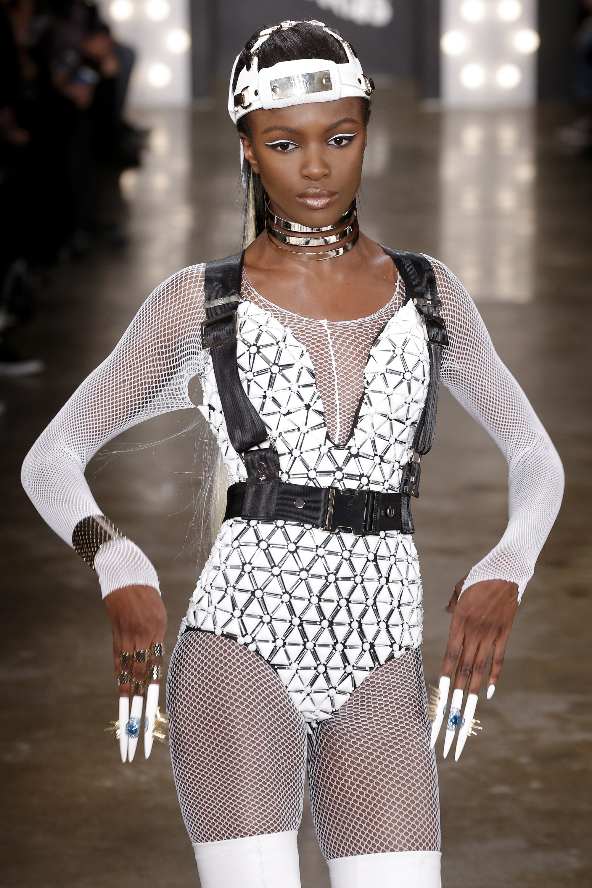 The harnesses at The Blonds were more utilitarian (Photo: Getty).
