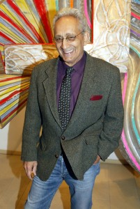 Nearing 80 years, Frank Stella is about to become the Next Hot Thing. (Johannes Simon/Stringer/ Getty Images)