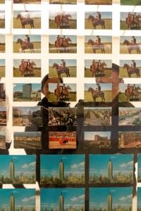 Postcards Kawara sent his Conceptual Art buddies. (Photo by Joe Vitale/New York Observer)