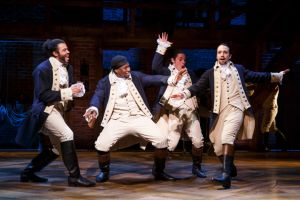 That feeling when you win the Hamilton lottery after using the Ham App.