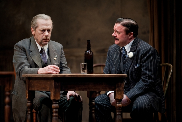 Stephen Ouimette and Nathan Lane confront reality and mortality in BAM's The Iceman Cometh.