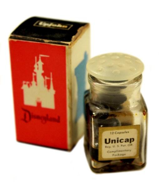 Upjohn Drugstore  complimentary vitamins in box. (Courtesy Van Eaton Galleries)
