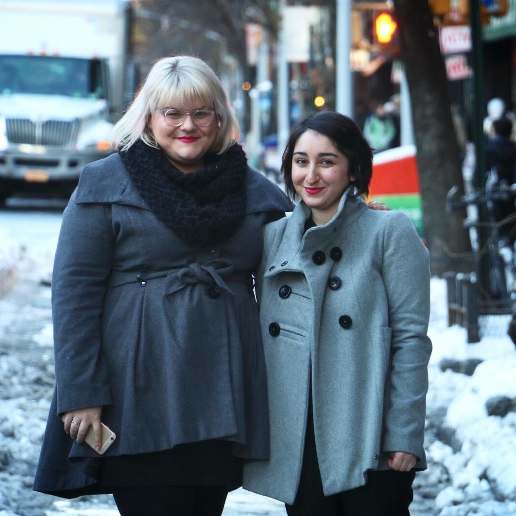 Amber Gordon and Gabriela Barkho. (Photo: Jack Smith IV/New York Observer)