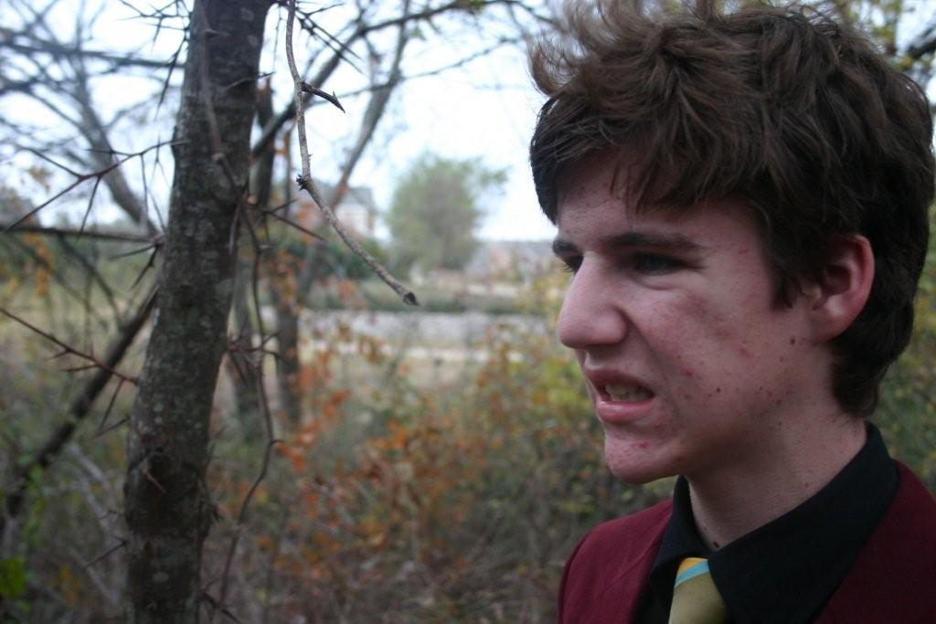 This is one of the many photos Dax Flame sent me in 2007, when he was just a 16-year-old kid with a YouTube channel. (Photo: Dax Flame)