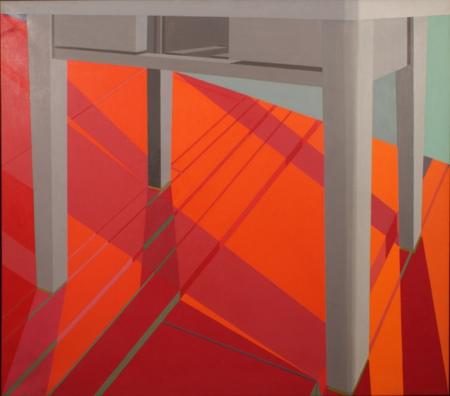 Jack Beal, Table Painting #6 (1969). (Courtesy George Adams Gallery)
