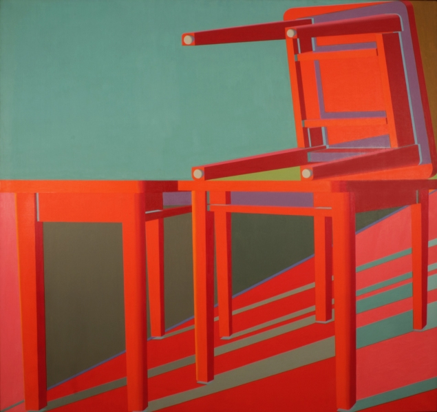 Jack Beal, Table Painting #11 (1969). (Courtesy George Adams Gallery)