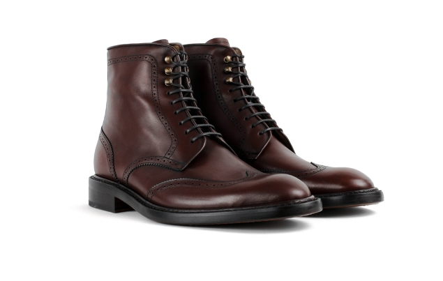 The Carter boot in chocolate (Photo: Jack Erwin).