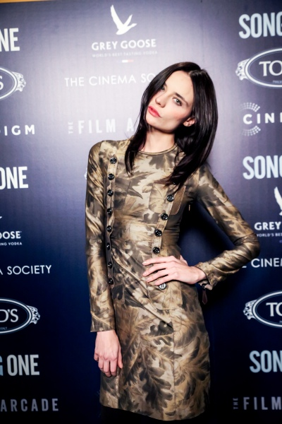 """THE CINEMA SOCIETY & TOD'S host the premiere of THE FILM ARCADE & CINEDIGM's """"Song One"""""""