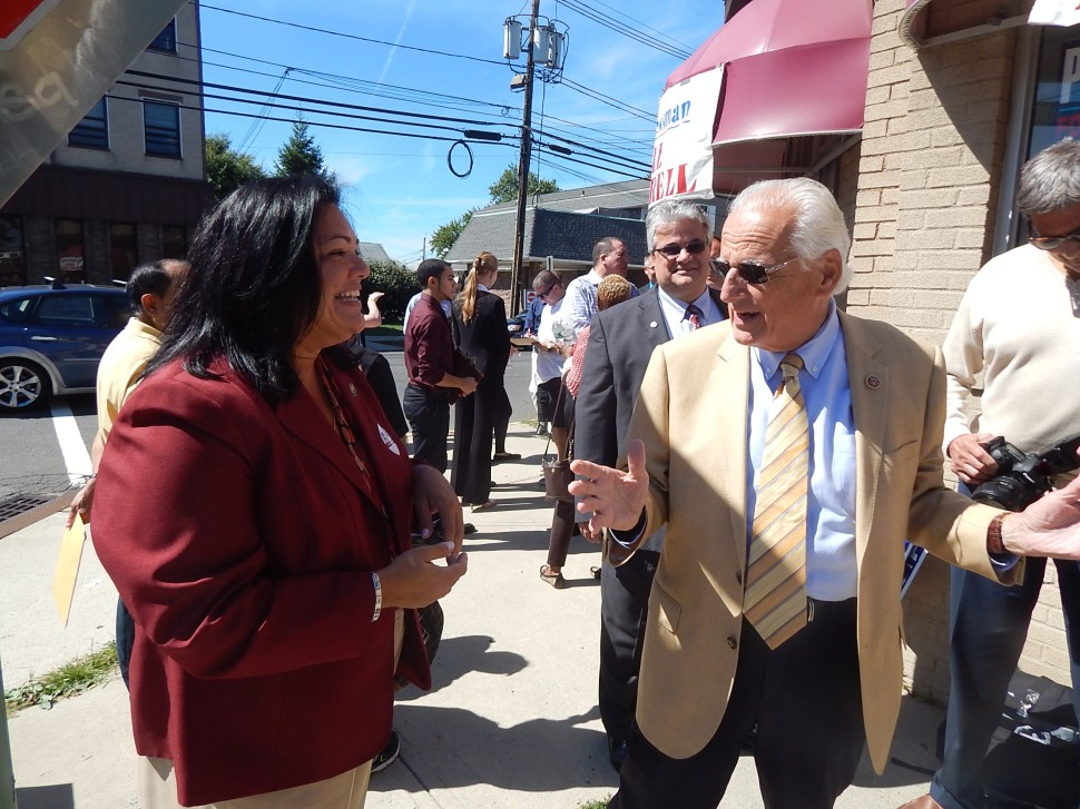 Caride and U.S. Rep. Bill Pascrell (D-9).