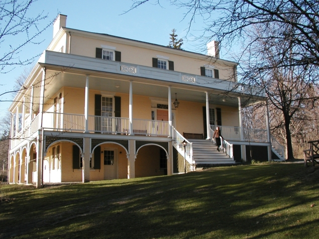 """The Thomas Cole National Historic Site, one of two locations where """"River Crossings: Contemporary Art Comes Home"""" will take place this summer. (Photo courtesy Thomas Cole National Historic Site)"""