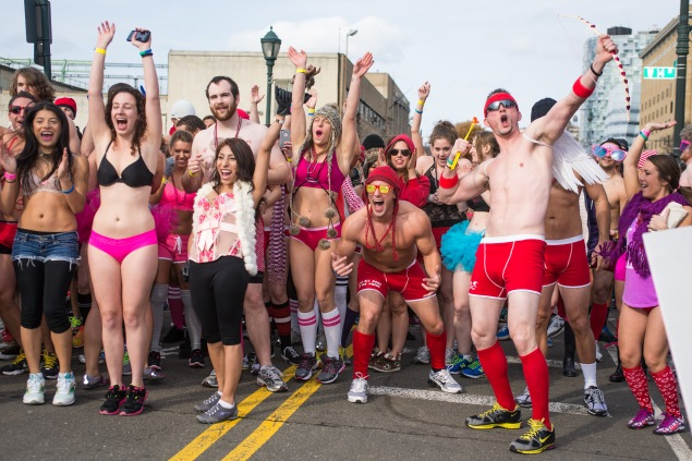 Participants of the Cupid's Undie Run in 2014. (Photo: Eric Harvey Brown)