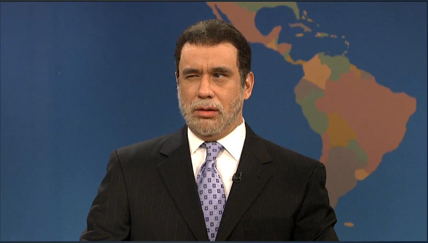 Fred Armisen as Gov. David Paterson on Saturday Night Live. (Screengrab: NBC)