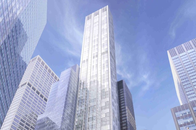 The design of 610 Lexington, now known as 100 DBox