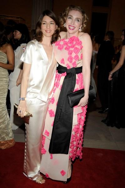 Sofia Coppola and Rachel Feinstein