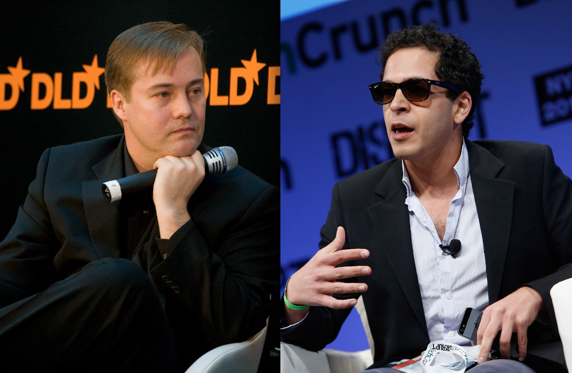 The Angel Investor and the Rap Genius (Photos: Eirik Solheim, Getty)