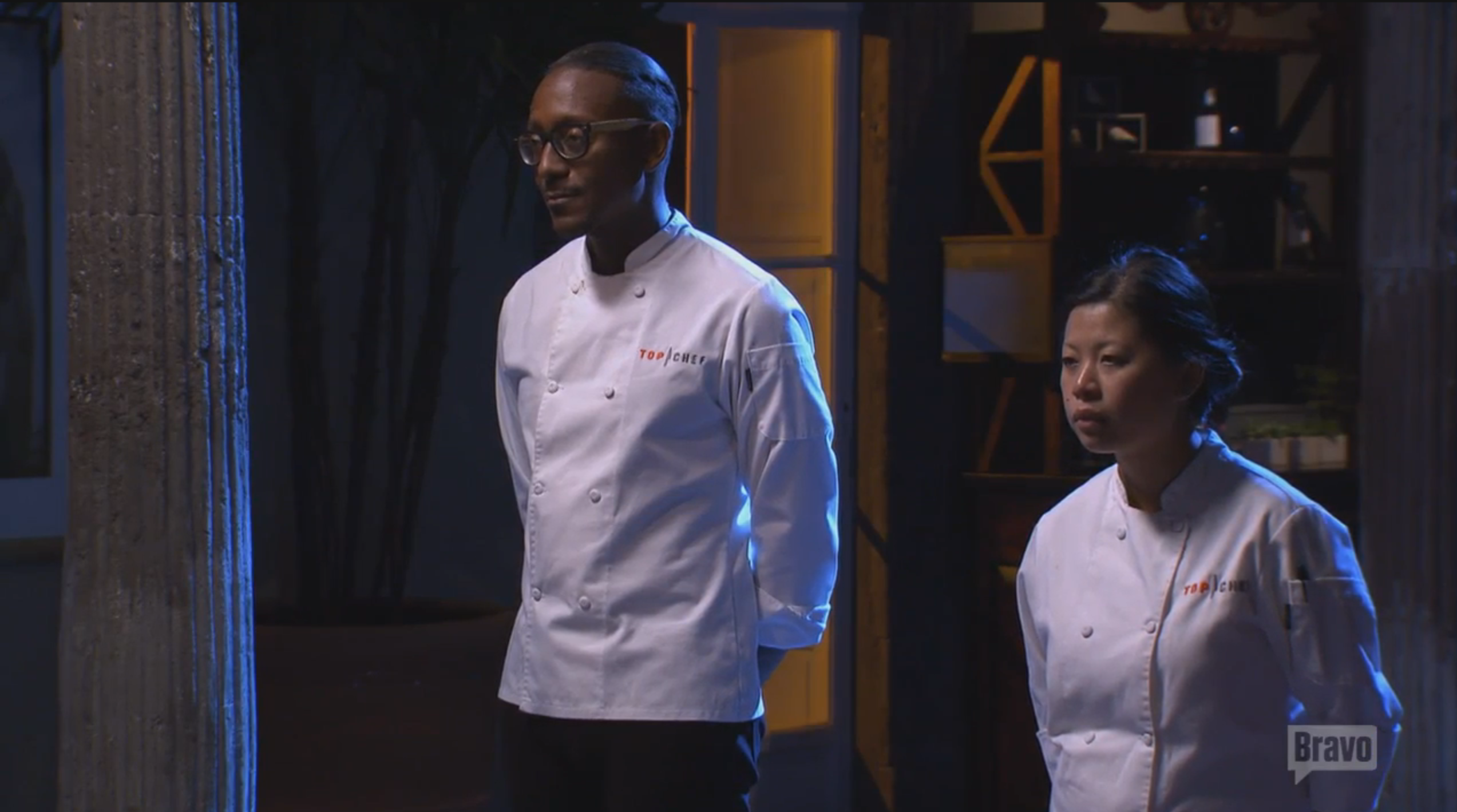 It's down to Gregory and Mei. (Screenshot: Bravo TV)