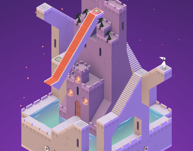 Monument Valley has quickly carved itself a place in the canon of mobile gaming classics. (Image: Monument Valley)