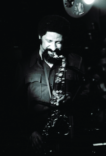 Sonny Rollins, in 1974, who recorded the first full-length, live album at Max Gordon's Greenwich Village jazz club.