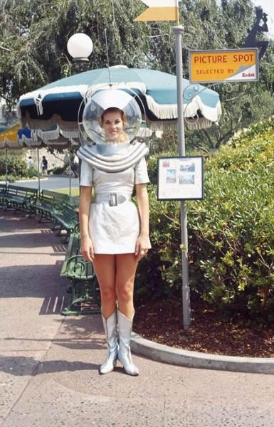 An original Space Girl photograph from park. (Courtesy Van Eaton Galleries)