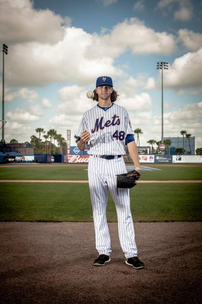 Photo of Jacob deGrom by Kate Benson for New York Observer.