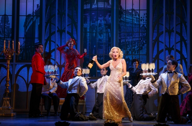 Kristin Chenoweth as Lily Garland in On the Twentieth Century. (Photo: Matt Hoyle)