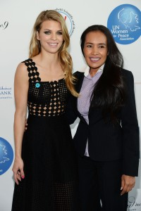 AnnaLynne McCord and Somaly Mam at UN Women For Peace Association Celebrates International Women''s Day
