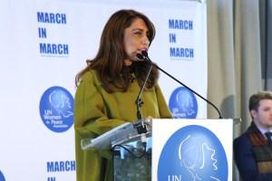 Muna Rihani Al-Nasse at UN Women For Peace Association Celebrates International Women's Day