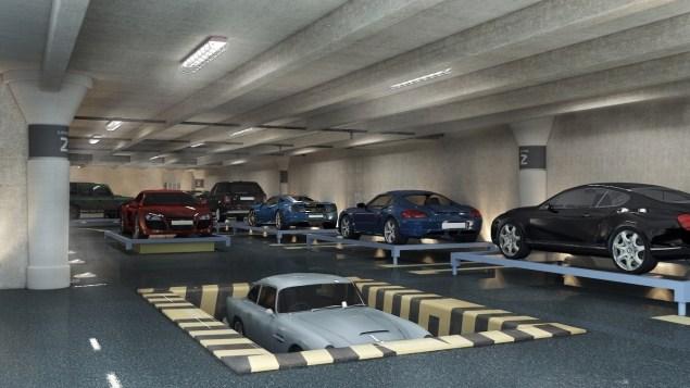 Car port.