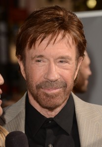 Chuck Norris, one of Benjamin Netanyahu's Hollywood Supporters. (Photo by Jason Merritt/Getty Images)