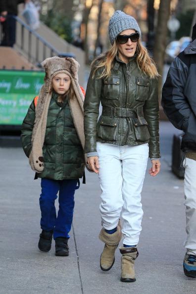 Sarah Jessica Parker with her son James Wilkie Broderick (Jackson Lee/StarMax/FilmMagic)