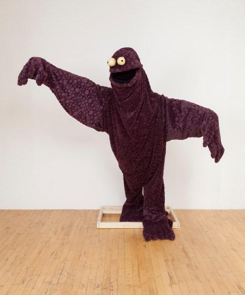"""Stefan Tcherepnin, """"em>Cuddle Monster (Courtesy Real Fine Arts)"""