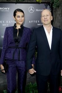 Emma and Bruce Willis. (Patrick McMullan)