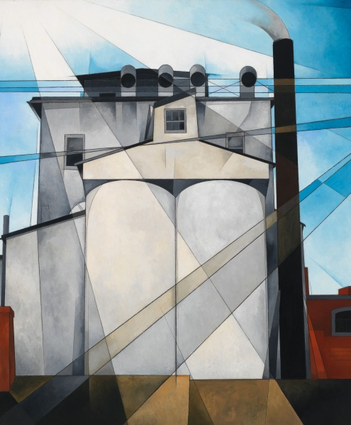 Charles Demuth's My Egypt, 1927 (Photo courtesy of Whitney Museum of American Art)