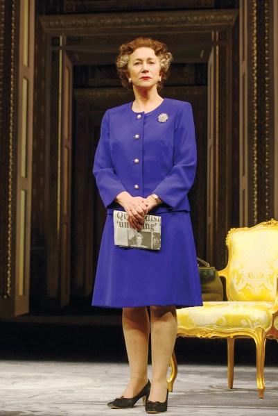 Helen Mirren as Queen Elizabeth II. (Photo: Joan Marcus)