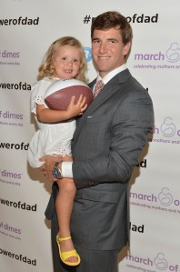 Eli Manning, Oral-B & The March Of Dimes Celebrate Father's Day