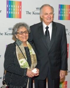 Arlene Alda and Alan Alda (Getty Images).