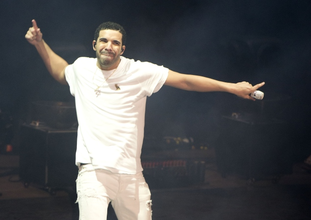 Drake. (Photo courtesy Getty Images)