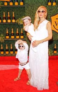 Rachel Zoe and son Skyler Berman (JB Lacroix/WireImage)
