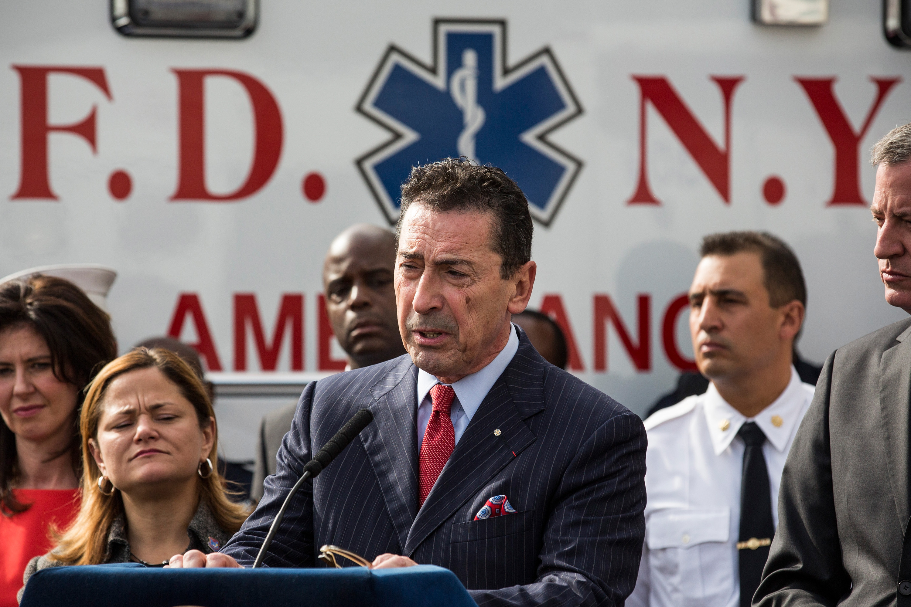FDNY Commissioner Daniel Nigro (Photo: Andrew Burton/Getty Images).