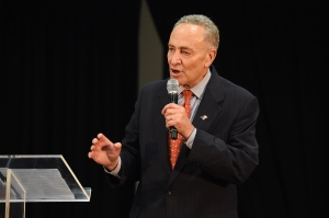 Senator Chuck Schumer of New York will likely be the next leader of Senate Democrats. (Photo by Larry Busacca/Getty Images for City Harvest)
