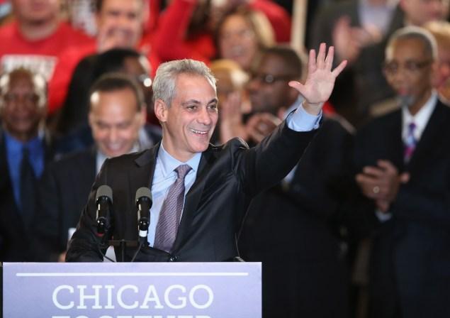 Chicago Mayor Rahm Emanuel. (Photo: Scott Olson/Getty Images)