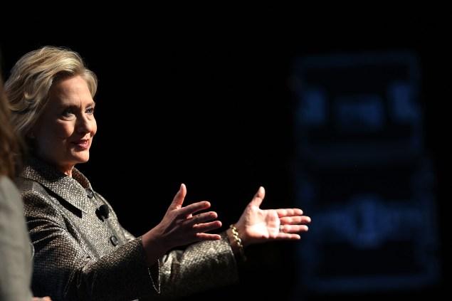 Hillary Clinton. (Photo: Spencer Platt/Getty Images)