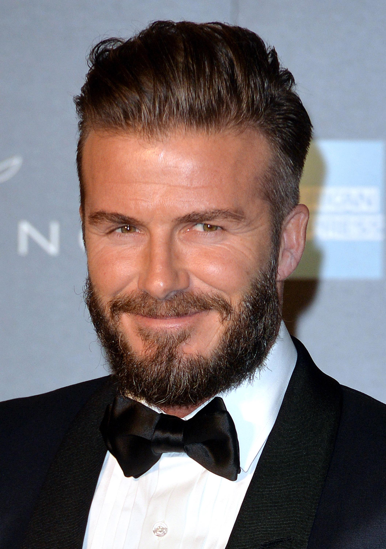 David Beckham in London this week (Photo: Getty).