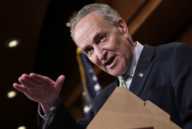 Senator Charles Schumer. (Photo: Win McNamee/Getty Images)